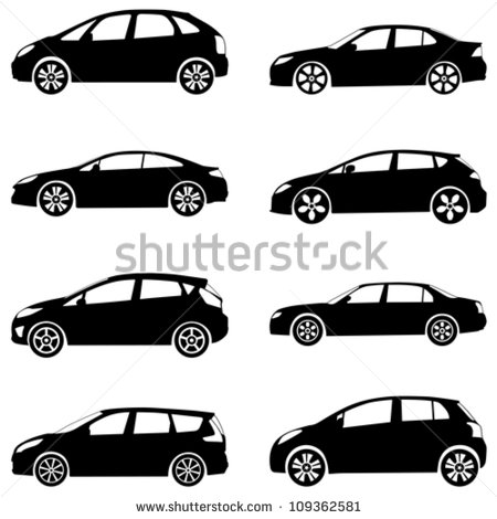 One Car  Cell Cars Car White Car  Clipart Autos Clip