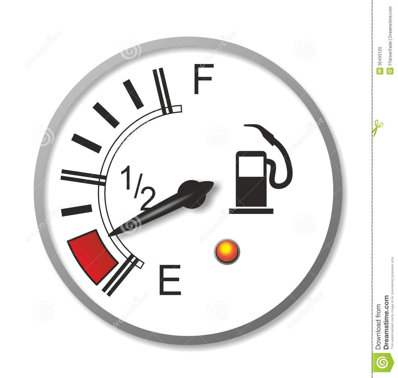 Or Symbol On The Fuel Gauge Showing You Which Side The Gas Tank Is On