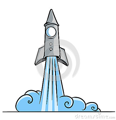 Blast Off Clipart - Cl...