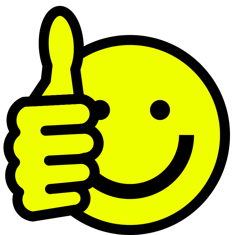 Smiley Face Clip Art Thumbs Up   Clipart Panda   Free Clipart Images