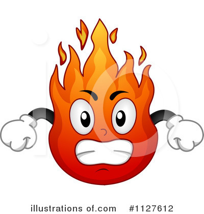 Fire Clipart  1127612   Illustration By Bnp Design Studio