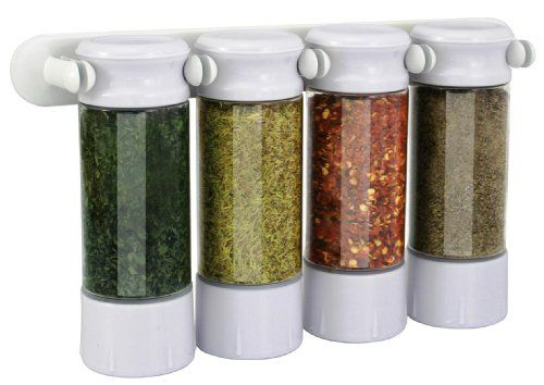 Kitchen Art Spice Jar Clip Set    Organizing   Pinterest