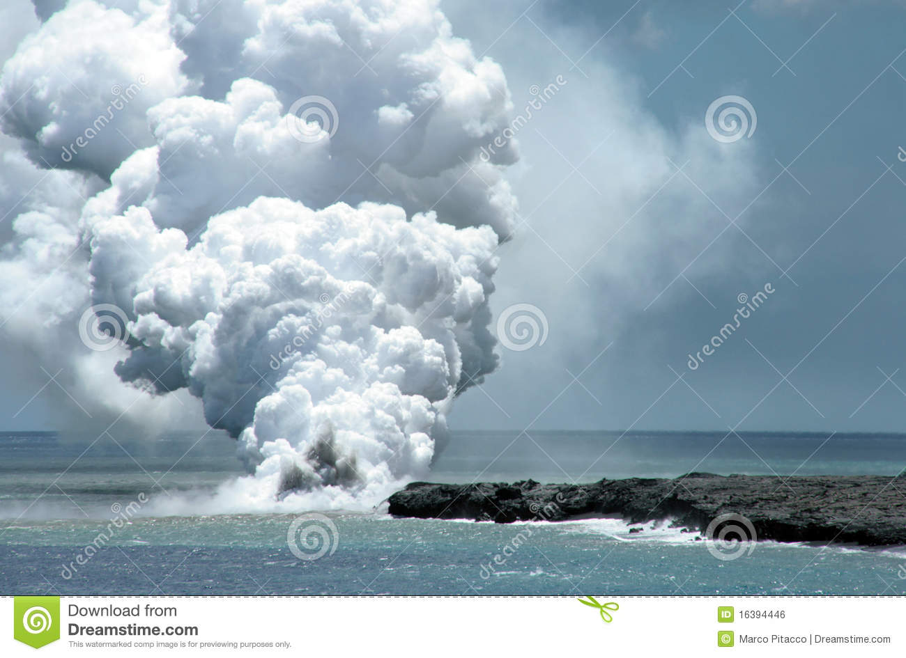 Lava Flow Royalty Free Stock Image   Image  16394446