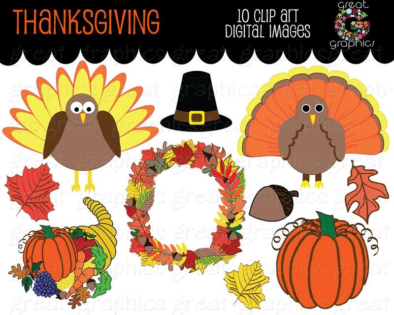 Printable Thanksgiving Clipart - Clipart Kid