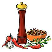 Spices Clip Art Spices