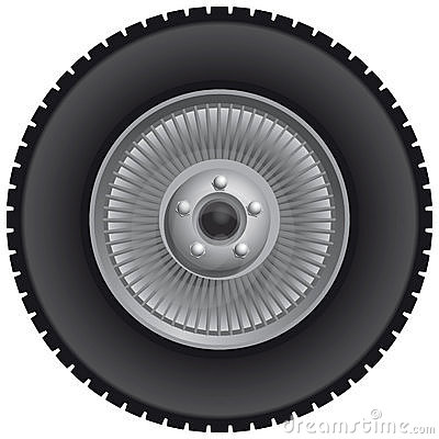 Wheels On Truck Wheel Click Image To Zoom