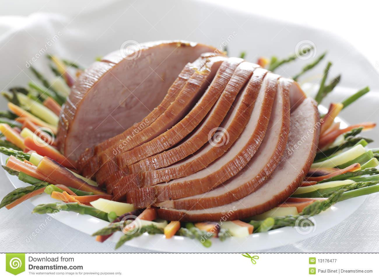 Whole Ham Royalty Free Stock Photography   Image  13176477