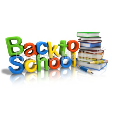 Back To School Supplies Clipart - Clipart Suggest