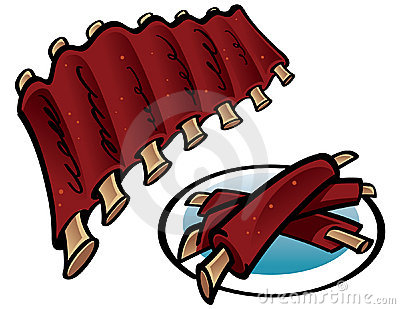 Bbq Ribs Clipart   Clipart Panda   Free Clipart Images