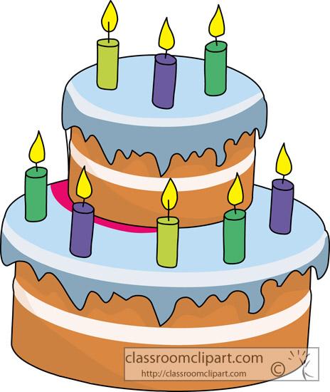 Blue Cake Clipart - Clipart Kid