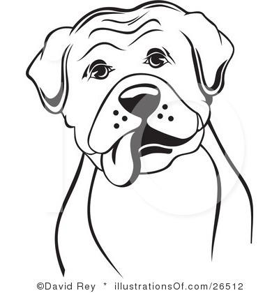 Boxer Dog Clipart - Clipart Kid