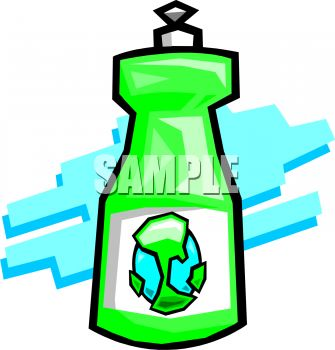 Clipart 0511 0901 0516 2148 Environmentally Safe Dish Soap Clipart