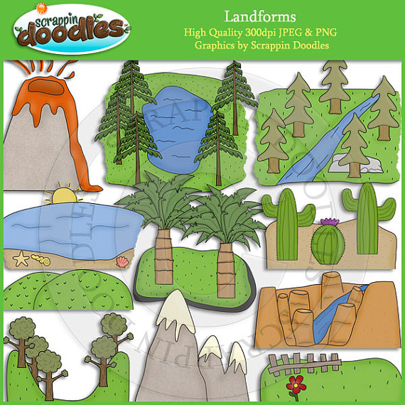 Clipart Displaying 19 Gallery Images For Valley Landform Clipart
