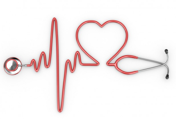Ekg Heart Red Heart Ekg Clipart