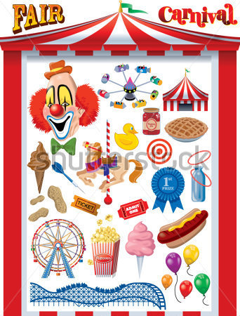 Fair Carnival Vector Graphics Clip Arts   Clipartlogo Com