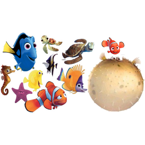 Nemo Characters Clipart Finding Nemo Polyvore Clipart
