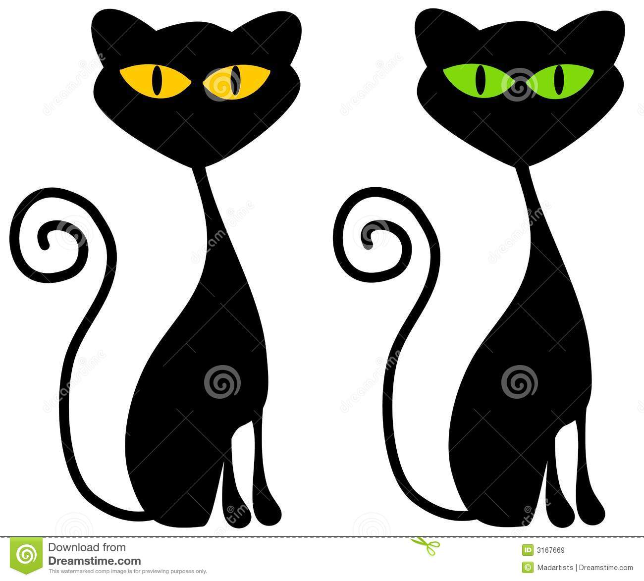 Scary Cat Clipart - Clipart Kid