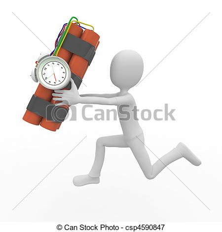 Time Bomb Csp4590847   Search Eps Clipart Drawings Illustration And
