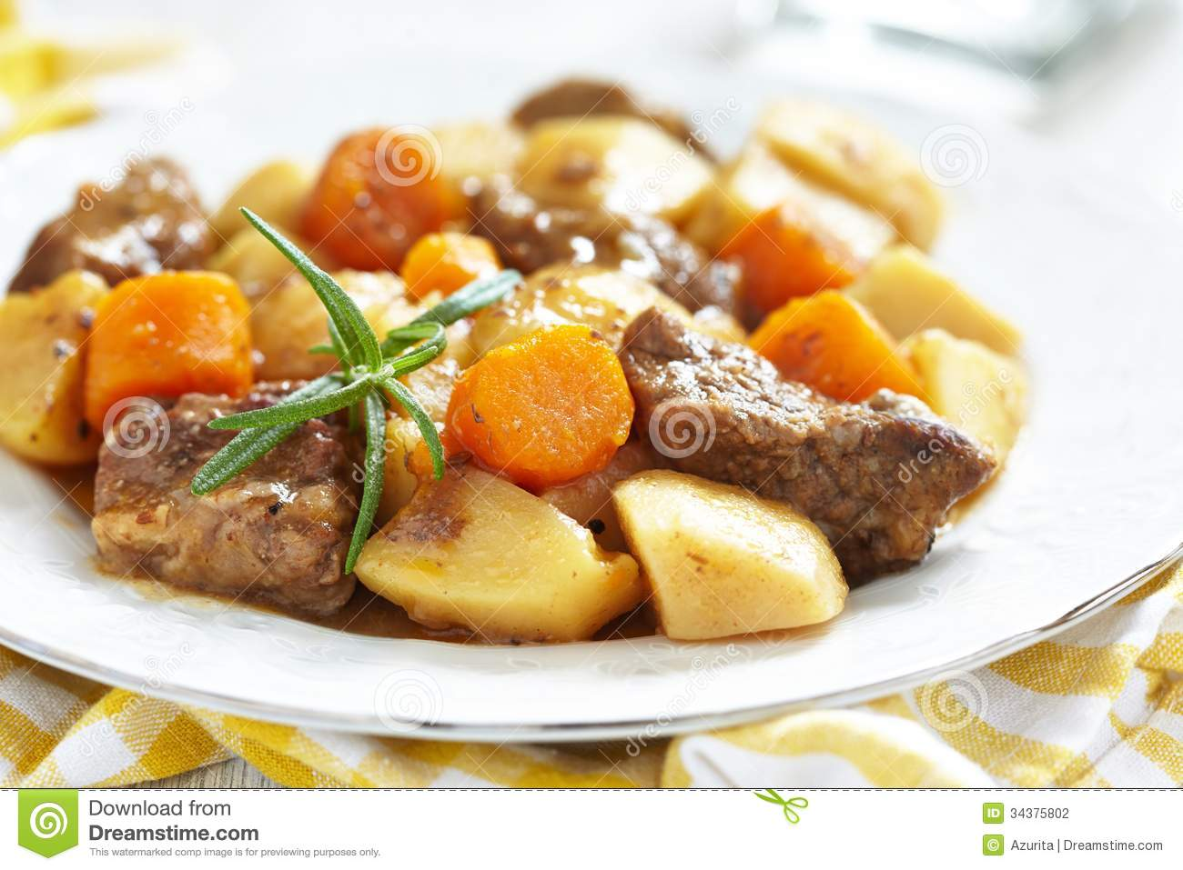 Beef Stew Stock Photography   Image  34375802