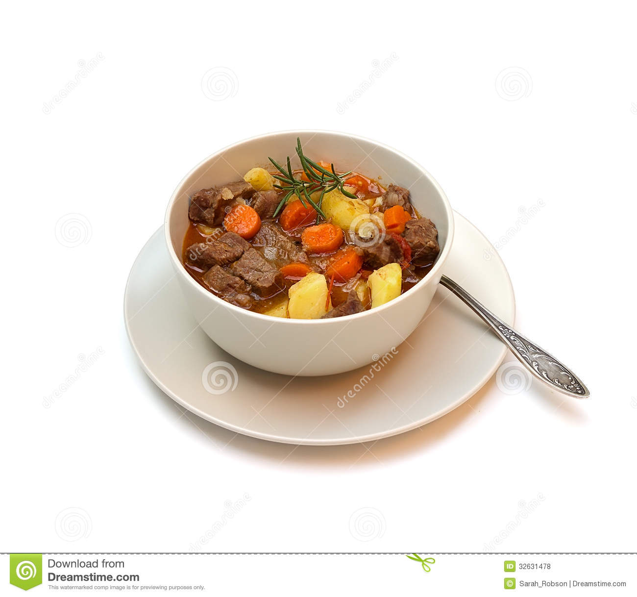 Beef Vegetable Soup Clipart Beef Stew On White Background