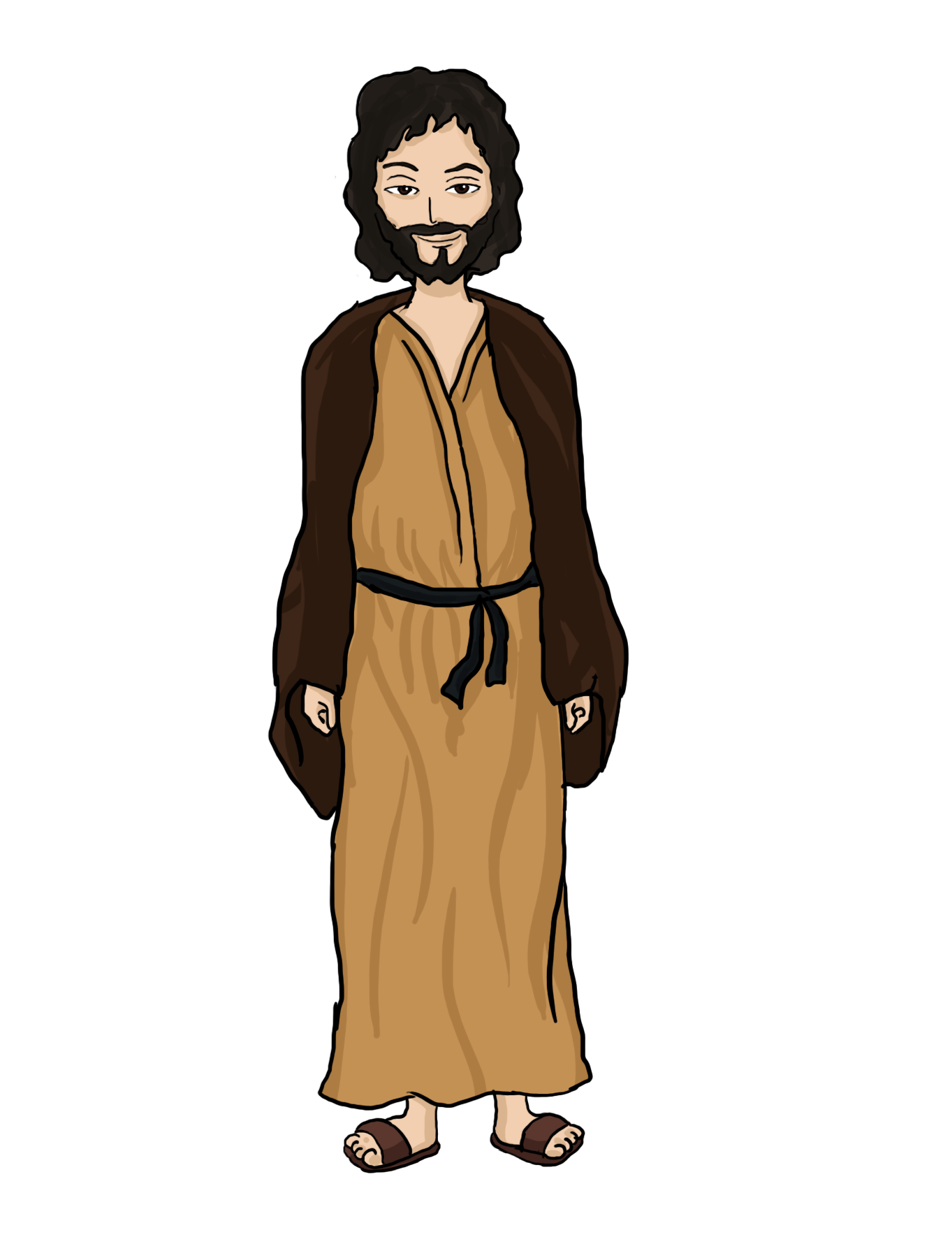 clipart cartoon jesus - photo #22