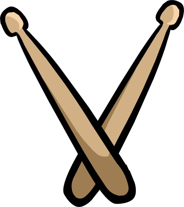 Drum Sticks Clipart - Clipart Suggest