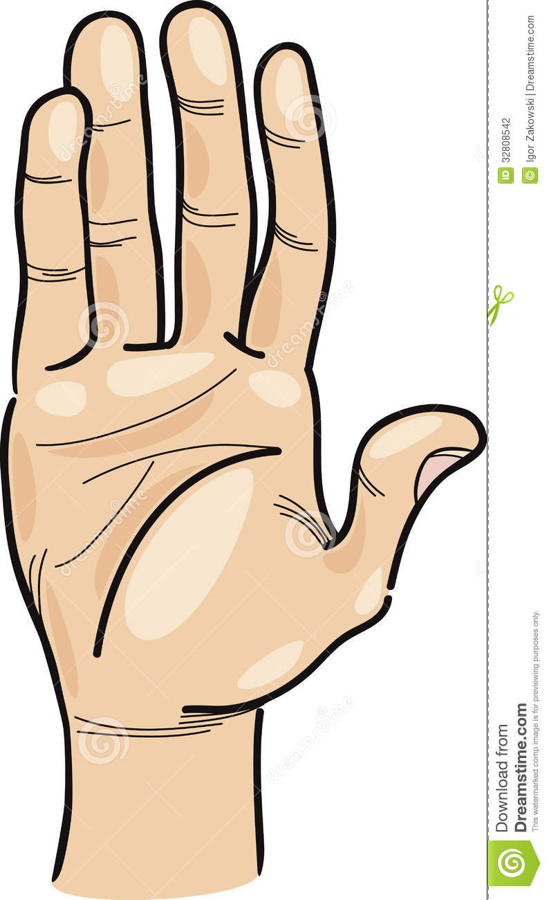 Hand Body Clipart - Clipart Kid