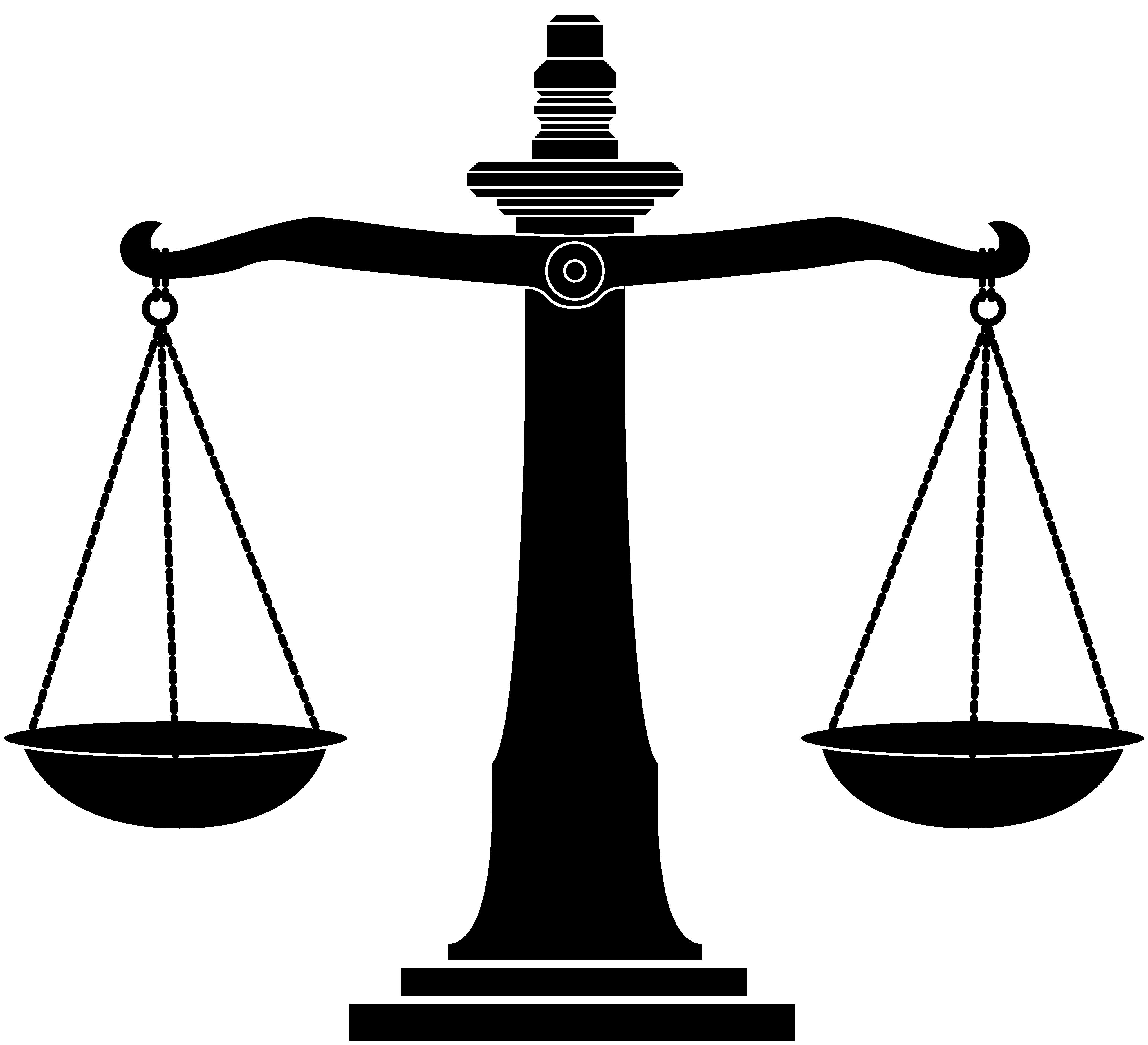 Law Scale Clipart - Clipart Suggest