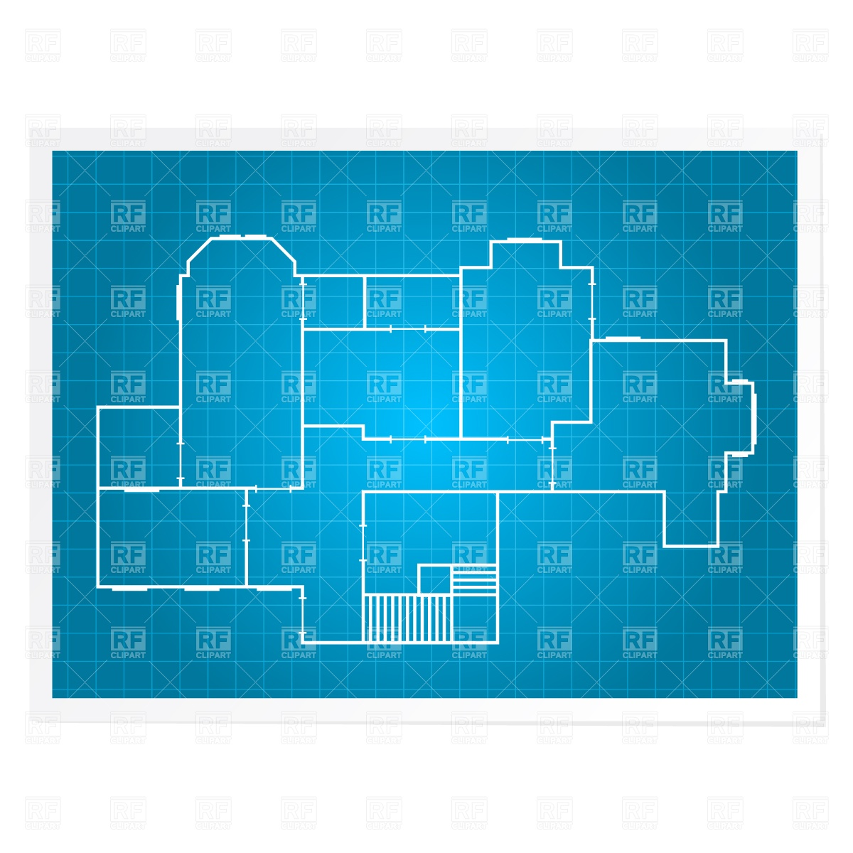 Plan Architectural Drawing Download Royalty Free Vector Clipart  Eps