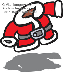 Clipart Illustration Of Santa S Coat   Acclaim Stock Photography