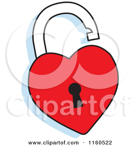 heart lock clipart clipart kid