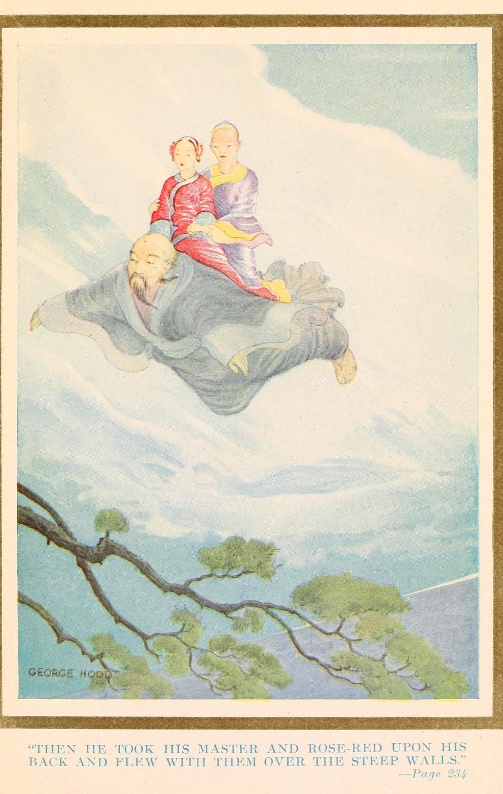 Juvenile Book Illustration Fairy Tale Asian Chinese Fairy Children