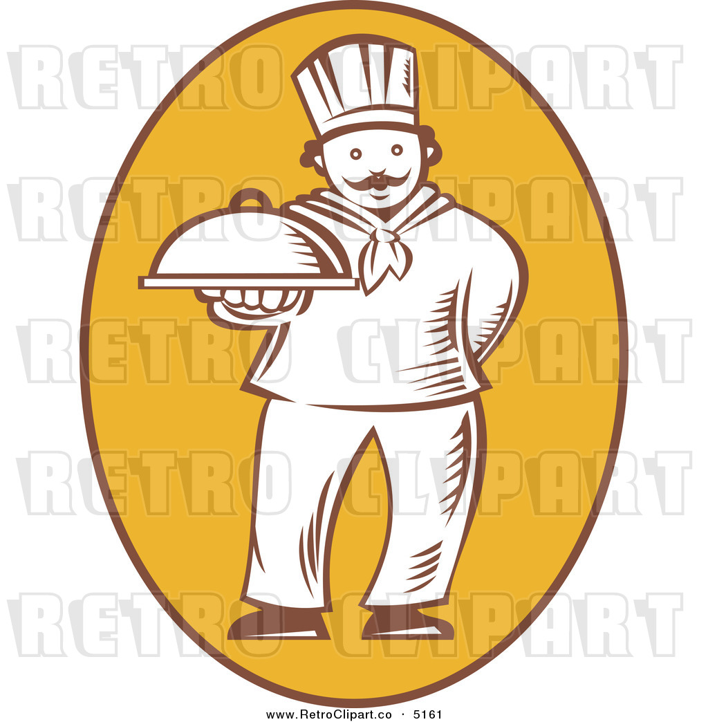 Lady Chef Clipart