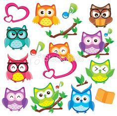 Summer Owl Clipart - Clipart Kid