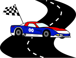 Race Car Clip Art Black And White   Clipart Panda   Free Clipart