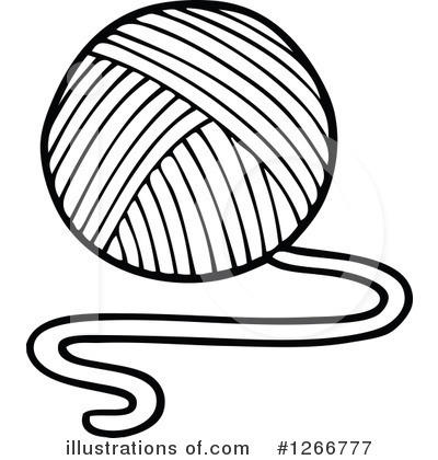 Yarn Clipart Black And White Yarn Free Clipart - Cl...