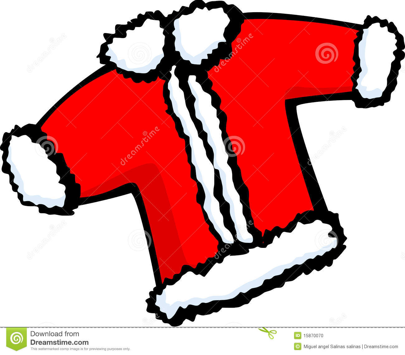 Stock Images Of   Santa Claus Christmas Coat Vector Illustration