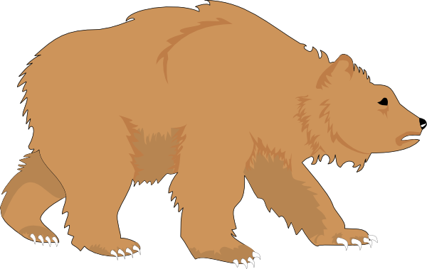 Clip Art Brown Bear Clipart brown bear story clipart kid time secrets flannel friday hibernation