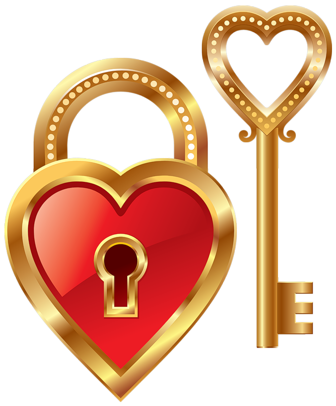heart lock clipart clipart suggest