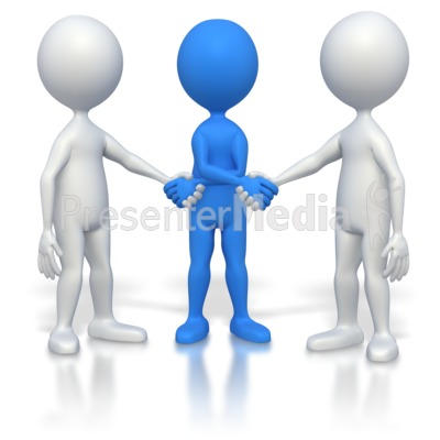 Three Way Hand Shake   Education And School   Great Clipart For