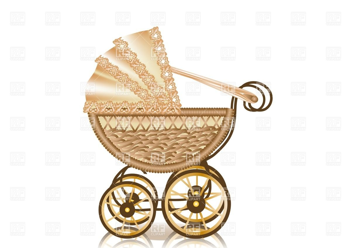 Vintage Baby Pram 25655 Objects Download Royalty Free Vector Clip