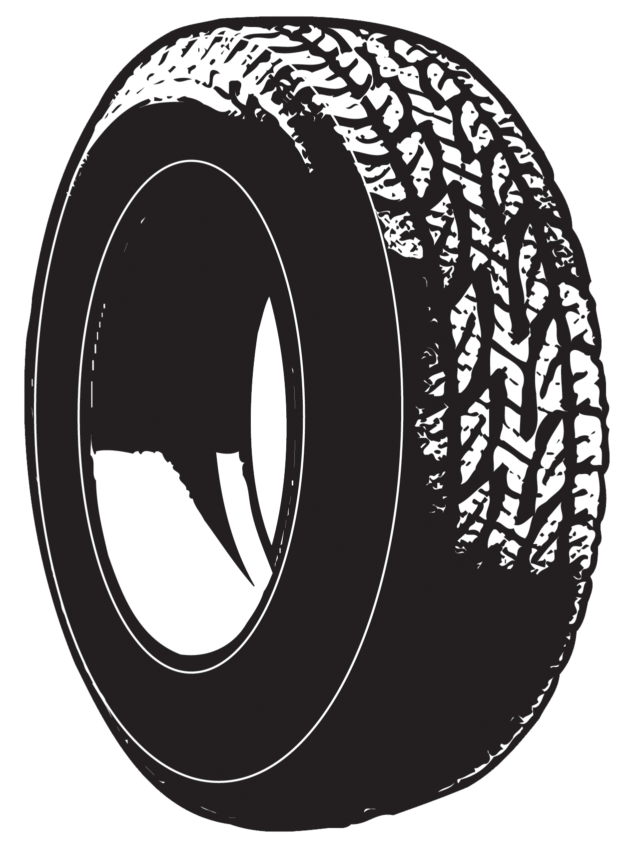 Tire Drawing Car tire clipart - clipart kid
