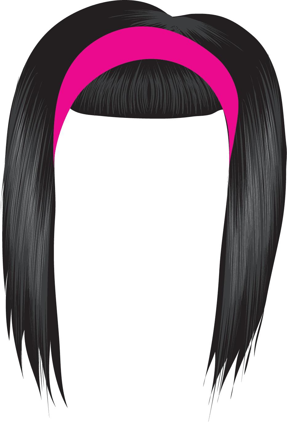 Clip Art Hair Clipart hair clip clipart kid black panda free images