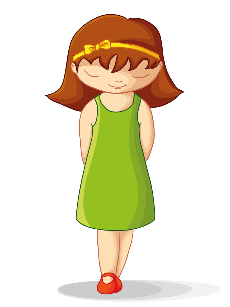 Shy Girl Clipart - Clipart Suggest Quiet Person Clipart