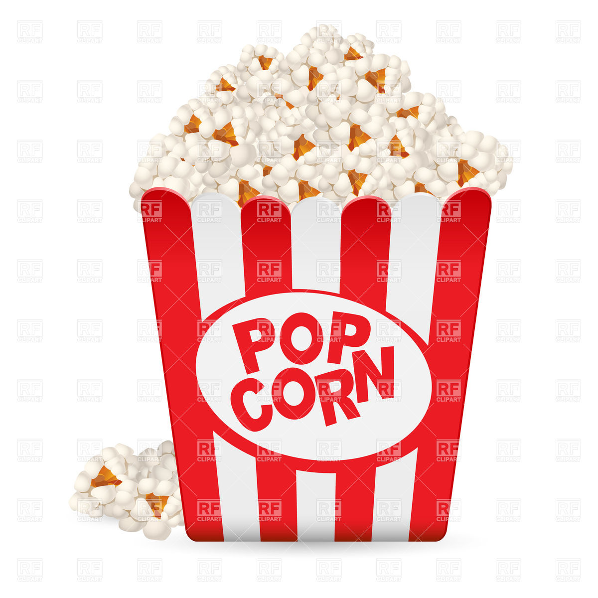 Cartoon Popcorn Clip Art Pictures And Vector Images