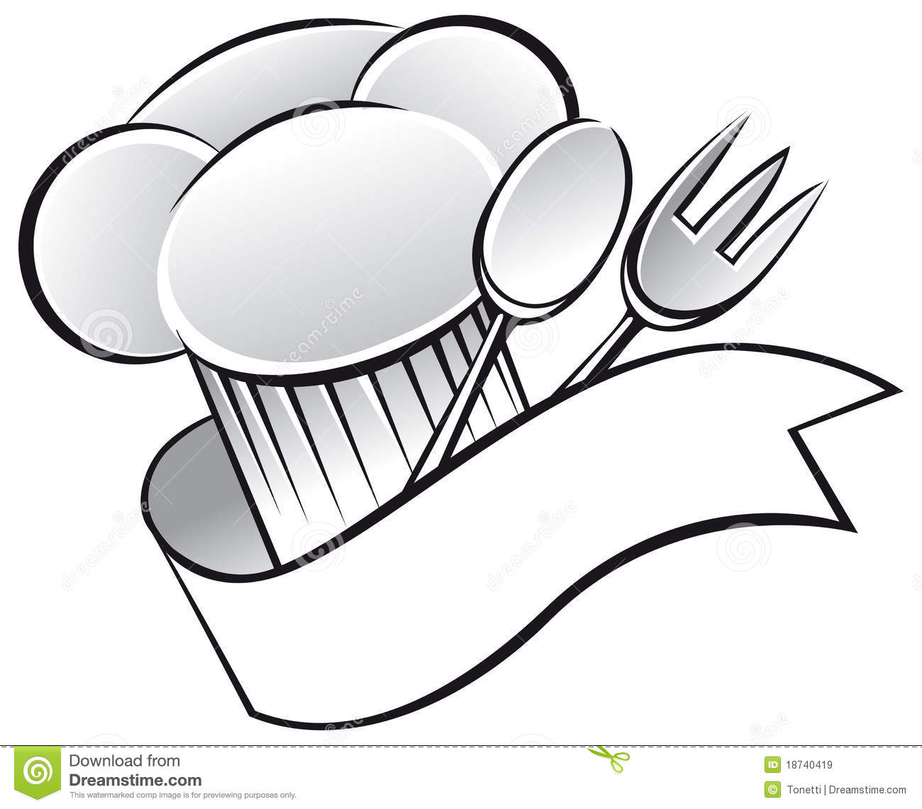 Chef Hat Royalty Free Stock Images   Image  18740419