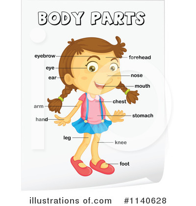 Clip Art Body Clip Art cartoon body clipart kid child rf parts clipart