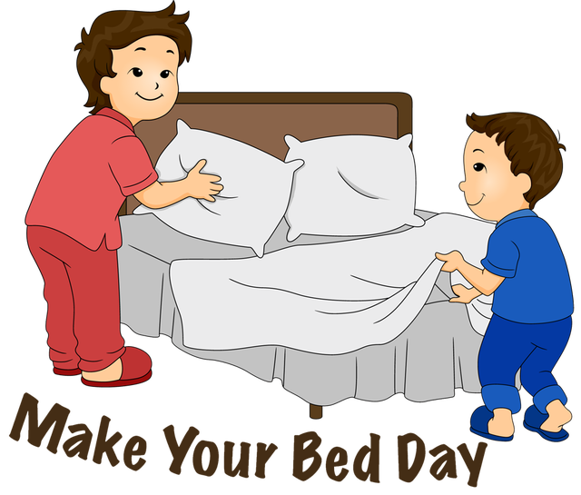 Clip Art For Make Your Bed Day Photo Credit Dixie Allan. Make Your Bed Clipart   Clipart Kid