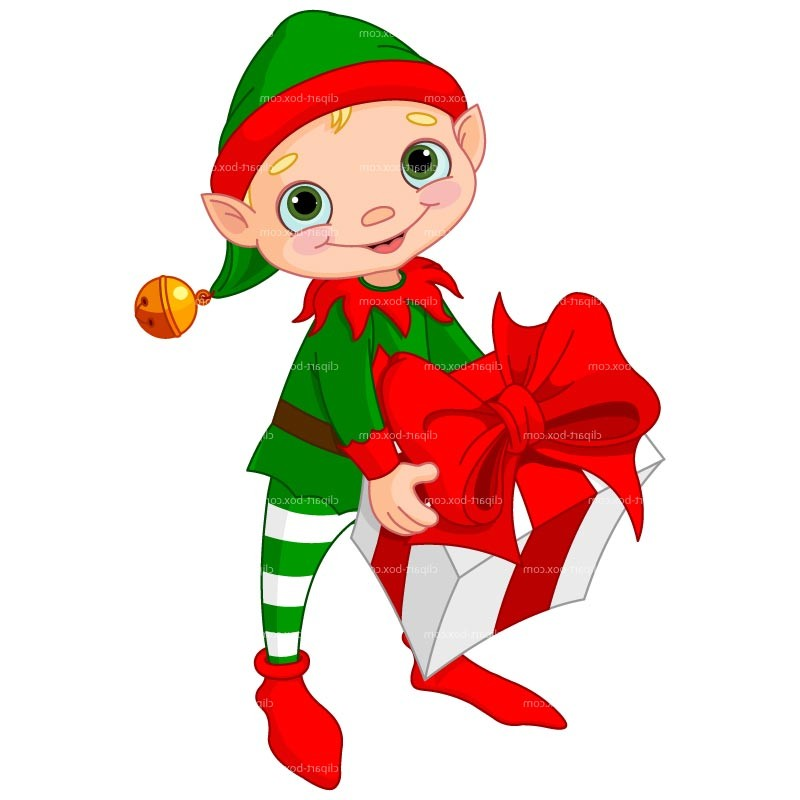 Christmas Elves Clipart - Clipart Suggest
