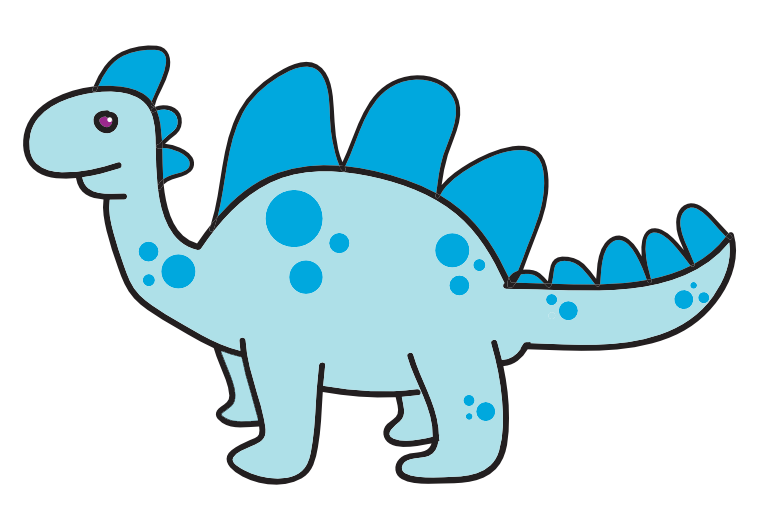 free girl dinosaur clipart - photo #26